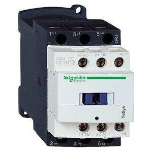Square D LC1D12G7 Contactor, Definite Purpose, 12A, 3P, 600VAC, 300VDC, 120VAC Coil