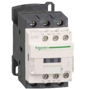 Square D LC1D25G7 Contactor, Definite Purpose, 25A, 3P, 600VAC, 300VDC, 120VAC Coil