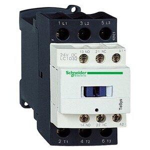 Square D LC1D32G7 Contactor, Definite Purpose, 32A, 3P, 600VAC, 300VDC, 120VAC Coil