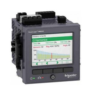 Square D METSEPM8240 Power Meter, PM8000, with Integrated Display, Panel Mount