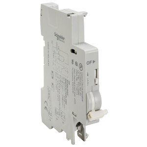 Square D MG26925 Breaker, Miniature, OF Auxiliary Switch, 12-277VAC, 12-125VDC