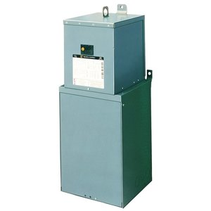 Square D MPZ15S40F Power Center, Mini, 1PH, 15kVA, 480 x 120/240VAC, 24 Space, NEMA 3R