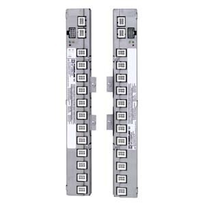 """Square D NF18SBRG3 Panel Board, Control Bus, 18 Circuit, Right Orientation, 42"""" Int."""