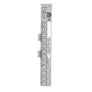 """Square D NF21SBRG3 Panel Board, Control Bus, 21 Circuit, Right Orientation, 42"""" Int."""