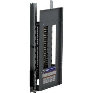 Square D NQ442L2C Panel Board, Interior, 225A, 42 Space, NQ Type, 240VAC, 48VDC, 3PH