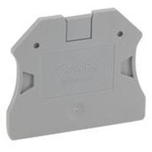 Square D NSYTRAP22 Terminal Block, Partition Plate, 2mm, Gray, Linergy TR Series