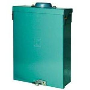 Square D QO612L100RB Load Center, Main Lug Only, 100A, 120/240VAC, 6/12, 1PH, NEMA 3R