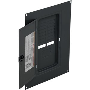 Square D QOC16US Load Center, Cover with Door, NEMA 1, Surface Mount, 12 Circuit