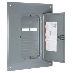 Square D QOC20U100F Load Center Cover with Door, Indoor, Flush Mount