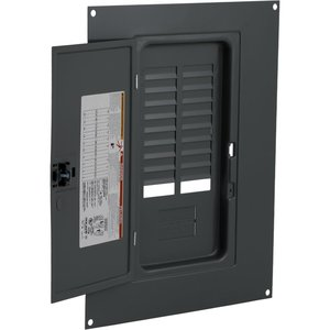 Square D QOC20U100S Load Center Cover with Door, Indoor, Surface Mount