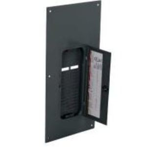 Square D QOC30UF Load Center, Cover with Door, NEMA 1, Flush Mount, 30 Circuit