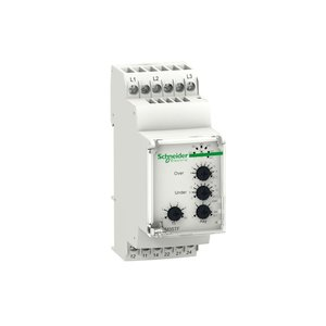 Square D RM35TF30 Relay, Zelio, Phase Measurement, Multifunction, 3PH, 220-480VAC, 5A