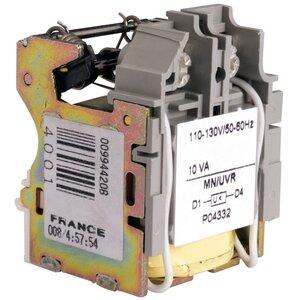 Square D S29406 Breaker, Molded Case, Undervoltage Trip, H, J, L, Frame, 110/130VAC