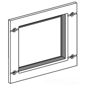 Square D S33929 Breaker, Molded Case, Door Escutcheon, Accessory Cover, R Frame