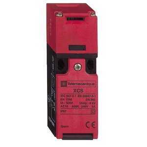 Square D XCSPA593 Safety Switch, Interlock, 2P, Plastic, Compact, 10A, 300VAC