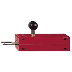 Square D XCSZ05 Safety Interlock Actuator, latch for Sliding Door, Metal Switch, Red