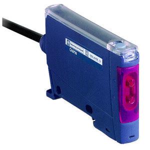 Square D XUDA2PSMM8 Photoelectric Sensor, Fiber Optic, M8 Nano Connector, 12-24VDC