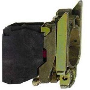 Square D ZB4BZ103 Pilot Device, Mounting Base, 22.5mm, 2NO Contact Block, 10A, 600VAC