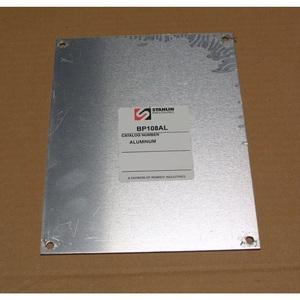 "Stahlin BP108AL Panel For Enclosure, 10"" x 8"", Diamond Shield Series, Aluminum"