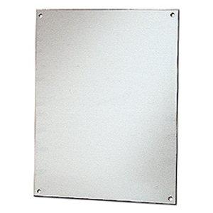 "Stahlin BP86AL Panel For Enclosure, 8"" x 6"", Diamond Shield Series, Aluminum"
