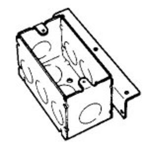 "Steel City 104-W-AB Weld Hndy Bxs-2 1/8"" Dpt"