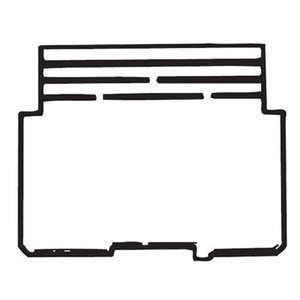"""Steel City 52-PD-1 4"""" Square Partition, 4"""" x 4"""" x 2-1/8"""", Steel"""