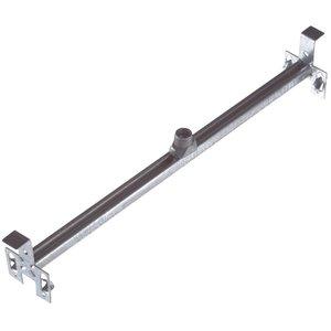 "Steel City 6011ADW-25 Adjustable Bar Hanger with Fastener, 14-1/2 to 26-1/2"", Steel"
