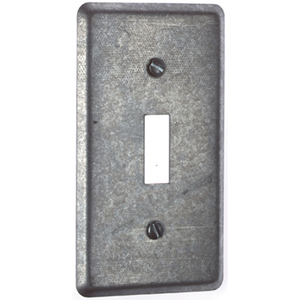 "Steel City 68-C-30 Handy Box Cover, Toggle, Width: 2-1/2"", Length:4-1/8"",Steel"