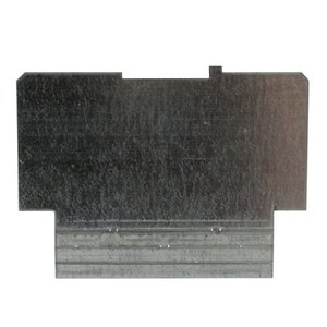 """Steel City 72-PD-1 4-11/16"""" Square Partition, 4-11/16"""" x 4-11/16"""" x 2-1/8"""", Steel"""