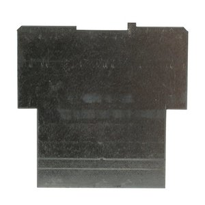 """Steel City 72-PD-2 4-11/16"""" Square Partition, 4-11/16"""" x 4-11/16"""" x 2-1/8"""", Steel"""