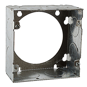 "Steel City 73171-1 4-11/16"" Square Extension Ring, 2-1/8"" Deep, Welded, Metallic"