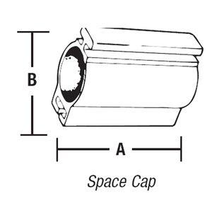 "Steel City BT-502 3/4"" Space Cap,emt,nm"