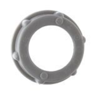 "Steel City BU-509 Conduit Bushing, Insulating, 3-1/2"", Threaded, Plastic"