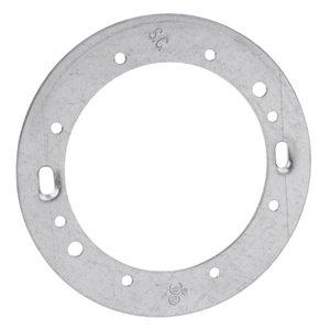 "Steel City CBA Concrete Box Adapter, Diameter: 4"", Steel"