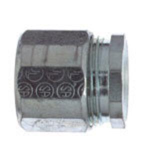 "Steel City EK-401 Rigid Three-Piece Coupling, 1/2"", Threaded, Steel"