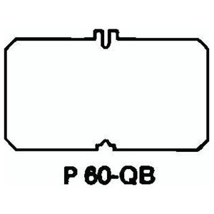 Steel City P-60-QB 663 Blank Plate