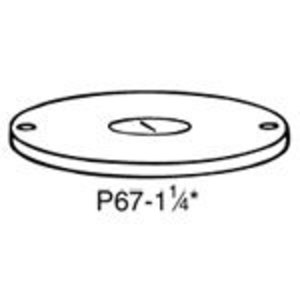 Steel City P-67-1-1/4 BRASS COVER PLATE