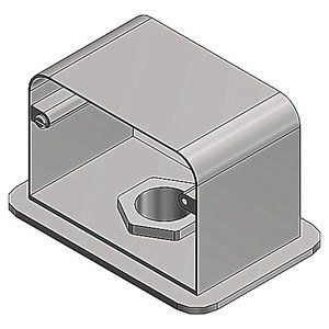 Steel City SFH-50-BASE 50BASE ALUMINUM FLOOR BOX PLATE
