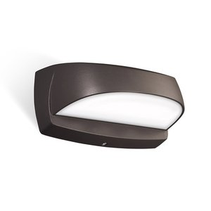 Stonco LPW7-1BZPCB LED Wall Sconce, 14W, 1200L, 4000K, 120V, w/Photocell