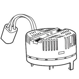 TCP 17036Q Electronic Ballast, Compact Fluorescent, 1-Lamp, 36W, 120V
