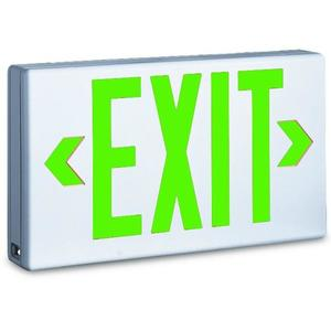 TCP 22745 Green LED Exit Sign