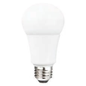 TCP LED10A19DOD27K Dimmable LED Lamp, Omni-Directional, A19, 10W, 120V