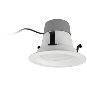 "TCP LED10DR430K LED Retrofit Downlight, 4"", 10W, 120V, 3000K"