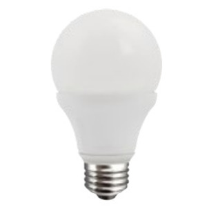 TCP LED11E26SA1930K LED Lamp, Dimmable, A19, 11W, 120V, Frosted