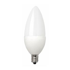 TCP LED4E12B1127KF LED Lamp, Dimmable, B11, 4W, 120V, Candelabra Base