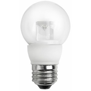 TCP LED4E26G1627K LED Lamp, Dimmable, G16, 4W, 120V, Medium Base, Limited Quantities Available