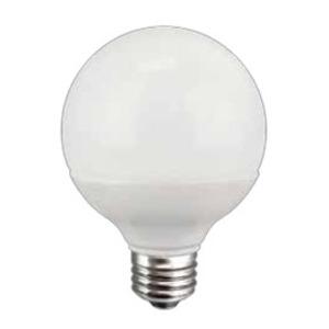 TCP LED8G25D30KF Dimmable LED Lamp, G25, 8W, 120V