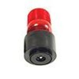 TOMAR Electronics 485S-120-R Strobe, Low Profile, Type: Single Flash, 120VAC, Lens: Red