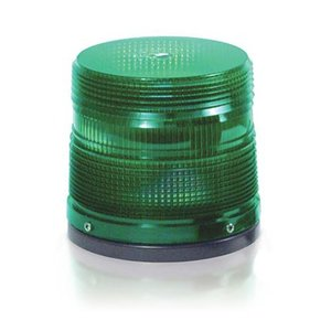 TOMAR Electronics 801-110-A Beacon, Low Profile - Single Flash, 120V AC, Amber
