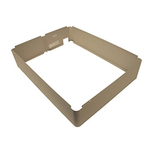 """TPI 3310EX33R Surface Mounting Frame, 4"""", Ivory"""
